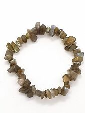 Gem Chip Bracelet Gemstone Labradorite Crystal Jewellery Reiki Charged