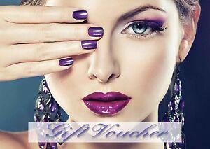 Blank Beauty Salon nail,hair,sunbed gift certificate/card x10 plus envelopes.