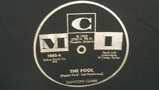 "Cool SANFORD CLARK ""The Fool"" b/w ""Lonesome For A Letter"" MCI pre shrunk T-SHIRT"
