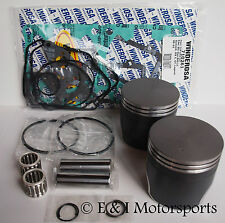 2006-2007 SKI-DOO MXZ MX Z 800 HO RENEGADE *DUAL RING PISTONS,BEARINGS,GASKETS*