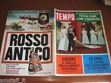 RIVISTA TEMPO 1968/38=CHE GUEVARA=ELIZABETH TISSIER=VITTORIO ADORNI=