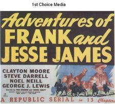 Adventures of Frank and Jesse James - Classic Cliffhanger Serial  Clayton Moore