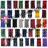 Scottish Kilt Hose Sock Flashes Garters Pointed Various Tartans Highland Wear