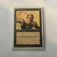 Magic The Gathering Revised (1994) Unholy Strength Card MTG 01