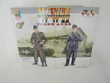 1/6 OR 12 INCHES DRAGON WW2 GERMAN TIGER ACES BOBBY WOLL/MICHAEL WITTMANN