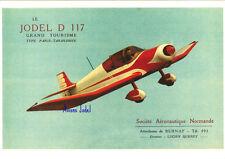 Reproduction publicité vintage JODEL D117 GRAND TOURISME