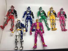 """Bundle of 7 Power Rangers Spd 5.5"""" Action Figures Job Lot Rare Bundle Of Toys"""