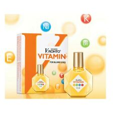 2x VRohto VITAMIN B6 K Na E Eye Drops 13ml For BLURRY fatigue Eyes Mentholatum