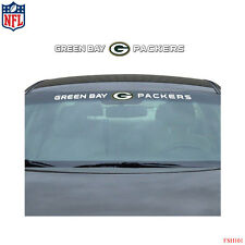 Brand New NFL Green Bay Packers Car Truck SUV Windshield Window Decal Sticker