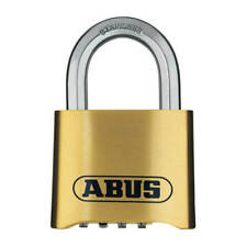 ABUS 180IB/50 2 in. Body x 1 in. Shackle Resettable 4 Dial Combination Padlock
