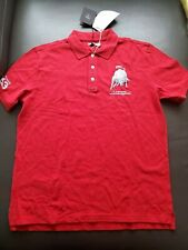 Authentic Automobili Lamborgini  red Polo shirt size L
