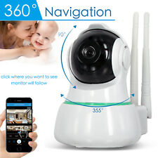 1080P Wireless Wifi Pet Baby Monitor Panoramic Night Vision Alarm IP CCTV Camera
