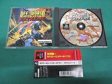 PlayStation -- OFF-WORLD INTERCEPTOR EXTREME -- PS1. JAPAN. GAME. Work. 15770