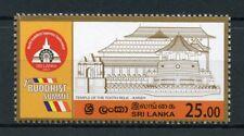 Sri Lanka 2017 MNH 7th Buddhist Summit 1v Set Architecture Temples Buddha Stamps