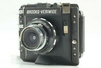 【 NEAR MINT】 Brooks Veriwide 6x9 Medium Format Film Camera from Japan #146