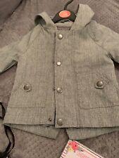 Primark Grey Hooded Anorak 3-6 Months Bnwot