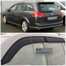 Wide Window Visors Side Guard Vent Deflectors For Opel Vectra C Caravan 2002-08