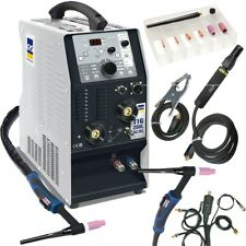 GYS WIG SALDATRICE TIG 200 200l AC DC HF 011816 CON ACCESSORI ACQUA refrigerati