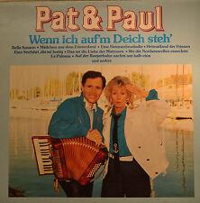 """PAT & PAUL - WENN ICH AUF`M DEICH STEH 12"""" LP (T 566)"""