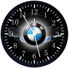 BMW Black Frame Wall Clock Nice For Decor or Gifts E296