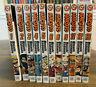 ~ Naruto Manga Lot of 11 Books: Volumes 1 - 6, 8 & 9, and 11 - 13  English