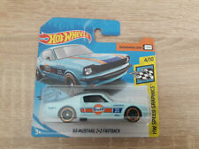 2020 Hot Wheels Gulf '65 Mustang 2+2 Fastback - 1:64 1/64 HW Speed Graphics 4/10