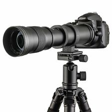Pro 420mm-800m Zoom Telephoto Lens Fit for Camera Canon Sony Sigma
