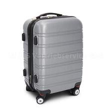 """Handgepäck Boardcase Cabin Reisekoffer Größe M Modell """"LINE"""" - SILBER"""