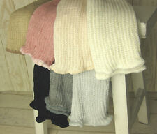 Natural Silk/Cotton Leg Warmers 3 size 7 colors Made in Japan