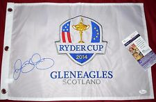 RORY McILROY signed 2012 RYDER CUP Pin Flag JSA - EMBROIDERED - Medinah