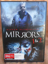MIRRORS 1 & 2 KIEFER SUTHERLAND 2 MOVIE SET DVD MA R4