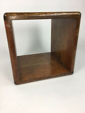 Mid Century Danish Modern Cube Occasional Side Table