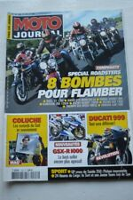 MOTO JOURNAL N°1528 2002 BUELL X1 1200 DUCATI 916 MONSTER S4 HONDA HORNET 900