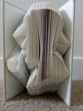 Sherlock Holmes Folded Book Art Sculpture OOAK Handmade Gift