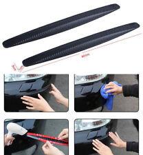 2x Accessories Car Carbon Fiber Anti-rub Protector Bars Body Corner Bumper Guard