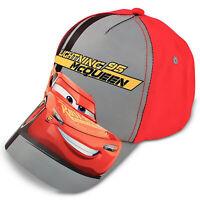 Disney Cars Lightning McQueen Cotton Baseball Cap, Little Boys, Age 4-7