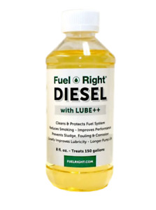 FUEL RIGHT FR-DL-08 Fuel Right Diesel - With Lube ++ (8 oz.)