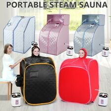 Portable Steam Sauna Detox Indoor Home Skin Spa Loss Weight Body Slimming Tent