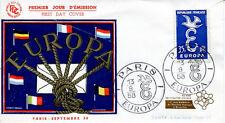 FRANCE FDC - 265e 1174 1 EUROPA 13 9 1958