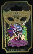 MNSSHP Mickey's Halloween Party 2016 Cruella De Vil Masquerade LE Disney Pin