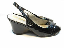 "Me Too Women's ""Sassy"" Patent Leather Upper Heels Size 8.5M; EUC"