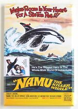 Namu the Killer Whale FRIDGE MAGNET (2.5 x 3.5 inches) movie poster orca