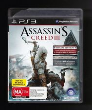 Assassins Creed III 3 PS3 2012 Pre Owned