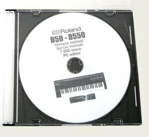 Roland D50 / D550 / D05 - CD mit 7000 Voice