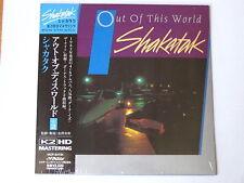"SHAKATAK ""Out Of This World""  Japan mini LP CD K2 HD"