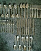 ALAN DAVIES & CO.CUTLERS,43 PIECES OF SHEFFIELD CUTLERY,SILVER PLATE