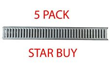 5 Pack Channel Drainage 1m length