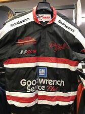 Vintage Dale Earnhardt NASCAR Leather Jacket With Throw Included
