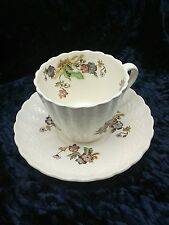 "Vintage Copland Spode ""Wicker Lane"" Cup and Saucer"