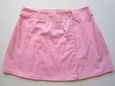 VTG Ladies Pastel Pink Tennis Skirt 12 Lightweight Golf Athletic Mini Wrap